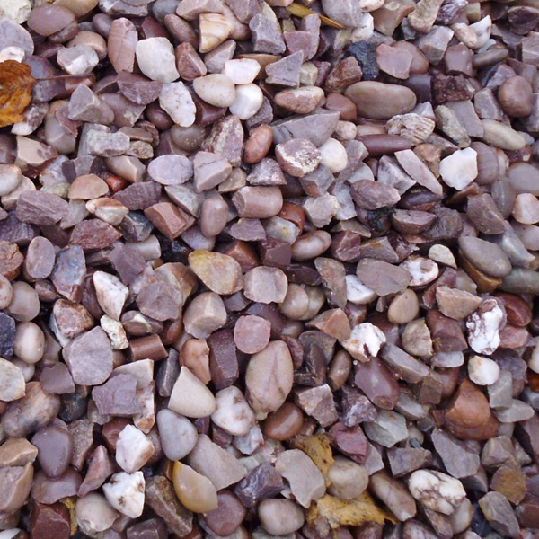 Staffordshire Pink Gravel For Sale Blackpool Decorative